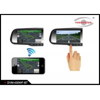 Buy cheap 3.2 Mega Pixel CMOS Wireless Backup Camera Rear View Mirror Monitor For Cars from wholesalers