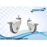 Buy cheap Nylon Body Construction Threaded Stem Heavy Duty Bed Casters For Hospital Equipment from wholesalers