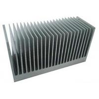 China Fluorocarbon Powder Spray Coated Aluminum Extrusion Heatsink For Aluminum Radiator on sale