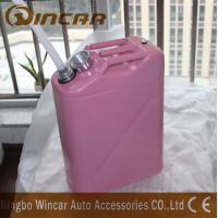 Buy cheap Durable 5L 10L 20L Fuel Petrol Metal Jerry Can For Storage With Flexible Spout product