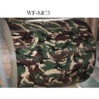 Buy cheap Camouflage Patterned Color Coated Steel Coil , Galvalume Steel Coil from wholesalers