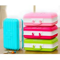 Buy cheap Hot sales colorful 6 days plastic weekly pill box,pill case,vitamin box product