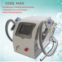 Buy cheap Weight Loss Fat Removal Cryolipolysis Freeze Fat Machine With Dual - 10 Deg Cryo Handles from wholesalers