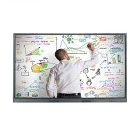 Buy cheap 4K Wall Mount IR Multi Touch Screen LCD Monitor 55 Inch Resolution 3840 * 2160 from wholesalers