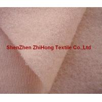 Buy cheap Customized 80-220 gsm durable brushed loop /napped loop fastener fabric product
