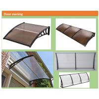Buy cheap UV Protection Polycarbonate Door Awnings , Door Rain Canopy Snow Resistant product