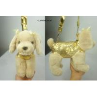 Buy cheap Cream Puppy Kid Snack Shoulder Bag from wholesalers