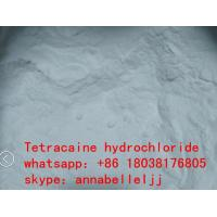 China Local Anesthetic Drugs Tetracaine HCl CAS 136-47-0 for  pain killer on sale