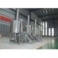 Buy cheap Stainless Steel 304 Craft Beer Brewing Equipment 1000L Simple Maintenance from wholesalers