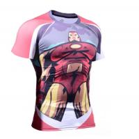 Buy cheap Logo Printed Sports Tee Shirts 100% Polyester Comfortable Eco - Eriendly from wholesalers