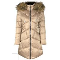 Buy cheap Thick Womens Warm Waterproof Coat , ODM OEM Womens Long Puffer Jacket With Hood from wholesalers