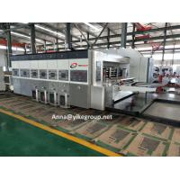 Buy cheap High Definition Flexo Printer Slotter Machine With 150 Sheets/Min ISO Approved from wholesalers