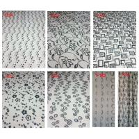 Buy cheap Flocking window finished curtain on hot sell product