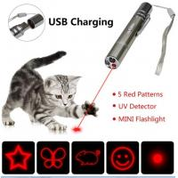 Buy cheap 7 in 1 Multi Pattern Funny Chaser Toy with Lazer Dot UV Light LED Flashlight Laser Pointer Cat Toy from wholesalers