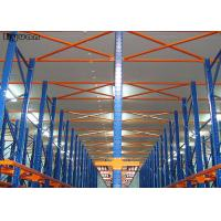 China Adjustable High Capacity Drive In Pallet Racking System Storage Racks Shelves on sale