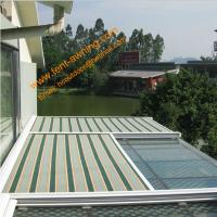 Green House Motorized Remote Control Conservatory Roof  Electrically Operated Sky Awning