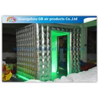 Buy cheap Colorful Fashional Photo Booth Led Lights Inflatable Oxford Cloth Waterproof product