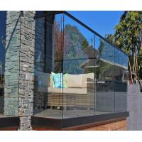 Buy cheap Side Mounted SS304 50.8mm Tube Balcony Glass Railing from wholesalers