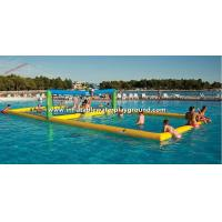 Buy cheap Outdoor Large Inflatable Water Games , Floating Inflatable Volleyball Court from wholesalers