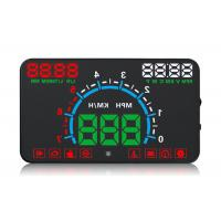 Buy cheap 12V Dc / 400mA Heads Up Car Display E300 Display Alarm Not Glare For Driving Safety from wholesalers