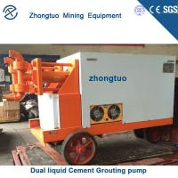 Buy cheap Dual liquid Cement Grouting pump|Used for double liquid high pressure grouting in mine tunnel from wholesalers