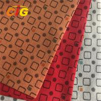 Buy cheap Anti - Mildew Abrasion - Resistant Polyester Automotive Upholstery Fabric from wholesalers