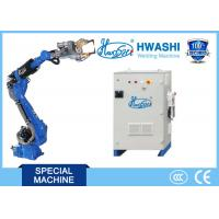 Buy cheap HWASHI 165KG Six Axis Spot Welding  Robot Arm for Automobile Parts from wholesalers