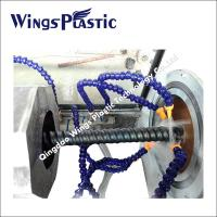 Buy cheap Plastic Cable Protecting Pipe Extrusion Line / PE Carbon Cable Pipe Making Machine from wholesalers