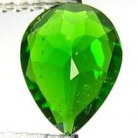 Buy cheap Pear 65carats Chrome Diopside Gemstone Green for Diopside Rings from wholesalers