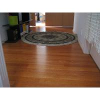 Buy cheap solid kempas hardwood flooring plank from wholesalers