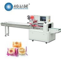 Buy cheap Rotary Up Paper Bakery Packaging Equipment / Pillow Wrapping Machine from wholesalers