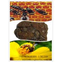 Buy cheap China Bee Propolis 98%, 70%, 60%, greenish brown solid cuboid/clump from wholesalers