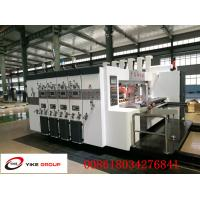 Buy cheap Corrugated Cardboard Flexo Printer Slotter Machine Die Cutter Machine Full Automatically from wholesalers
