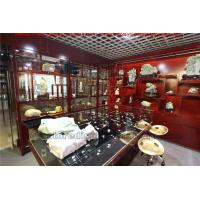 Buy cheap Chinese style Design for Jade Favorite Store made by traditional furniture in Wooden display tall cabinet and Glass case from wholesalers