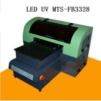 Buy cheap Multicolor 100W  LED UV Printer A3+ 28cm x 55cm High Accuracy for Glass Plastic Acrylic Sheets from wholesalers