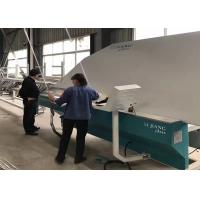 Semi Auto Glass Bending Machine 0.5 Mm , Insulating Glass Production Line 380V