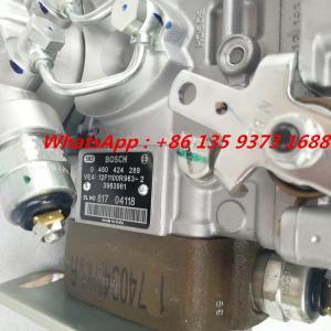 Buy cheap Genuine Cummins 4bt3.9 Engine Fuel Injection Pump 0460424289 3963961 3963962 product