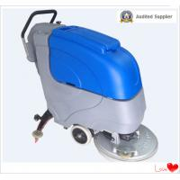 Buy cheap Hand push Floor scrubber with 24V battery from wholesalers