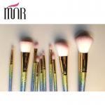 Buy cheap Fashion Professional Makeup Brush Set Beautiful Colorful Rainbow Ferrule from wholesalers
