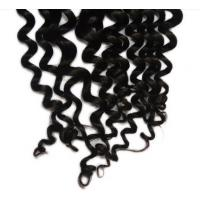 Buy cheap Black Women Loose Curly Virgin Cambodian Hair / 100 Real Human Hair  from wholesalers