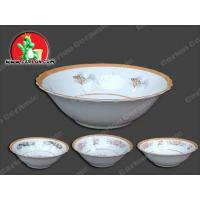 Buy cheap porcelain footed bowl from wholesalers