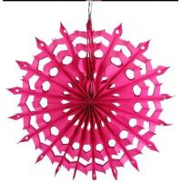 Buy cheap Honeycomb Paper Flower Fan Birthday Party Wedding Decoration from wholesalers