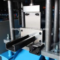 Buy cheap PLC Control Door Frame Roll Forming Machine / CZ Purlin Machine For Building from wholesalers