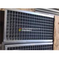 Buy cheap Plain Welded Steel Bar Grating Closed End 6m Length For Municipal Subgrade product