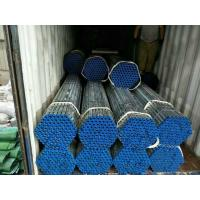 Buy cheap 4 Inch 6mm hot dip galvanized erw steel tube structure building materials from wholesalers