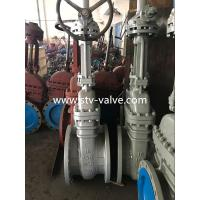 Buy cheap API 6D Class 150 Carbon Steel Gate Valve with Flange End,16 Inch,Bolt Bonnet ,Gear Op. from wholesalers