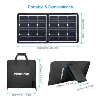 Buy cheap 50 Watt 18 Volt Foldable Solar Panel Charger High Safely FCC RoHS Certified from wholesalers