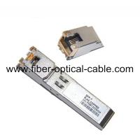 Buy cheap 1.25G RJ45 SFP Copper Connector fiber GLC-T from wholesalers