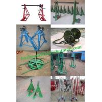 Buy cheap Sales Cable Drum Jacks,Cable Drum Handling,best Cable Drum Lifting Jacks from wholesalers