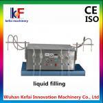 Buy cheap 5-1000 ml Semi Automatic 4 Heads Liquid / Perfume Bottle Filling Machine from wholesalers